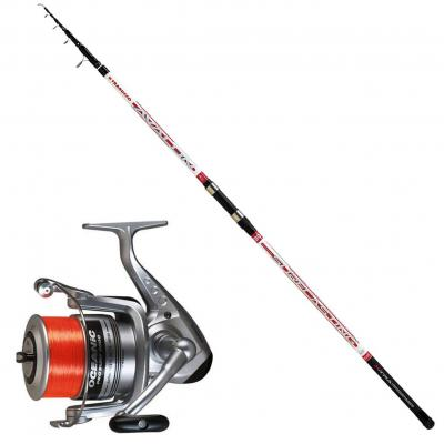 Trabucco Stupendo Kit surfcasting Composto da: Canna Avalon Surf 400 + Mulinello Oceanic 8000