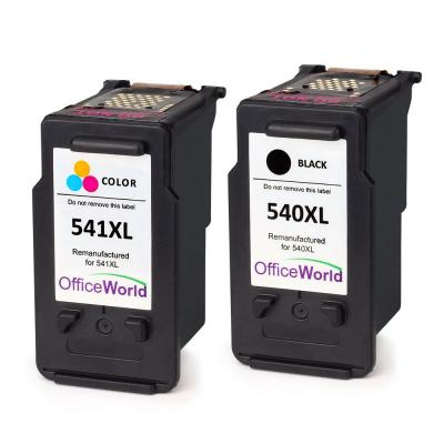 Officeworld Remanufactured Canon Pg-540 Cl-541 Cartucce