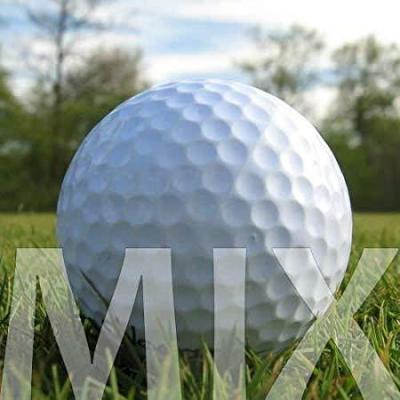 100 MIX DI MARCHE PALLINE DA GOLF  LAKEBALLS