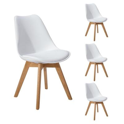 Dorafair Set Di 4 Sedia Design Scandinave